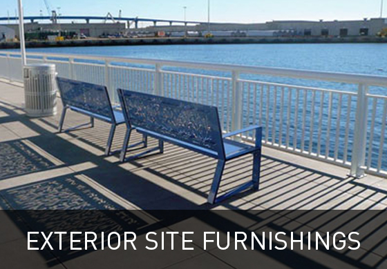 Exterior Site Furnishings